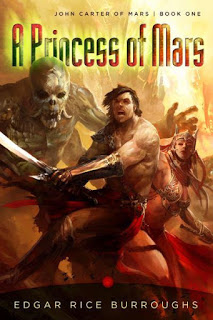 "Book cover for ""A Princess of Mars"""